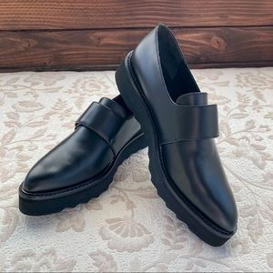 VINCE Arden Leather Loafers ladies size 7